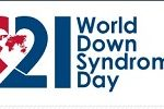 World Downs Syndrome day logo