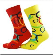 World Downs Syndrome day socks
