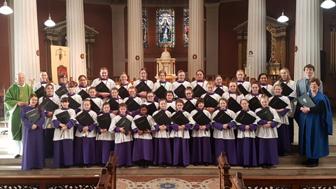St Mary's Pro Cathedral Dublin Girls choir