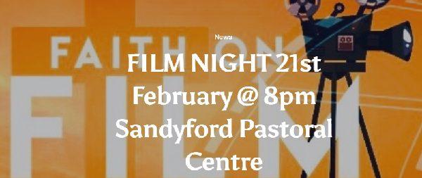 Paul, Apostle of Christ, Film Night in Sandyford Parish