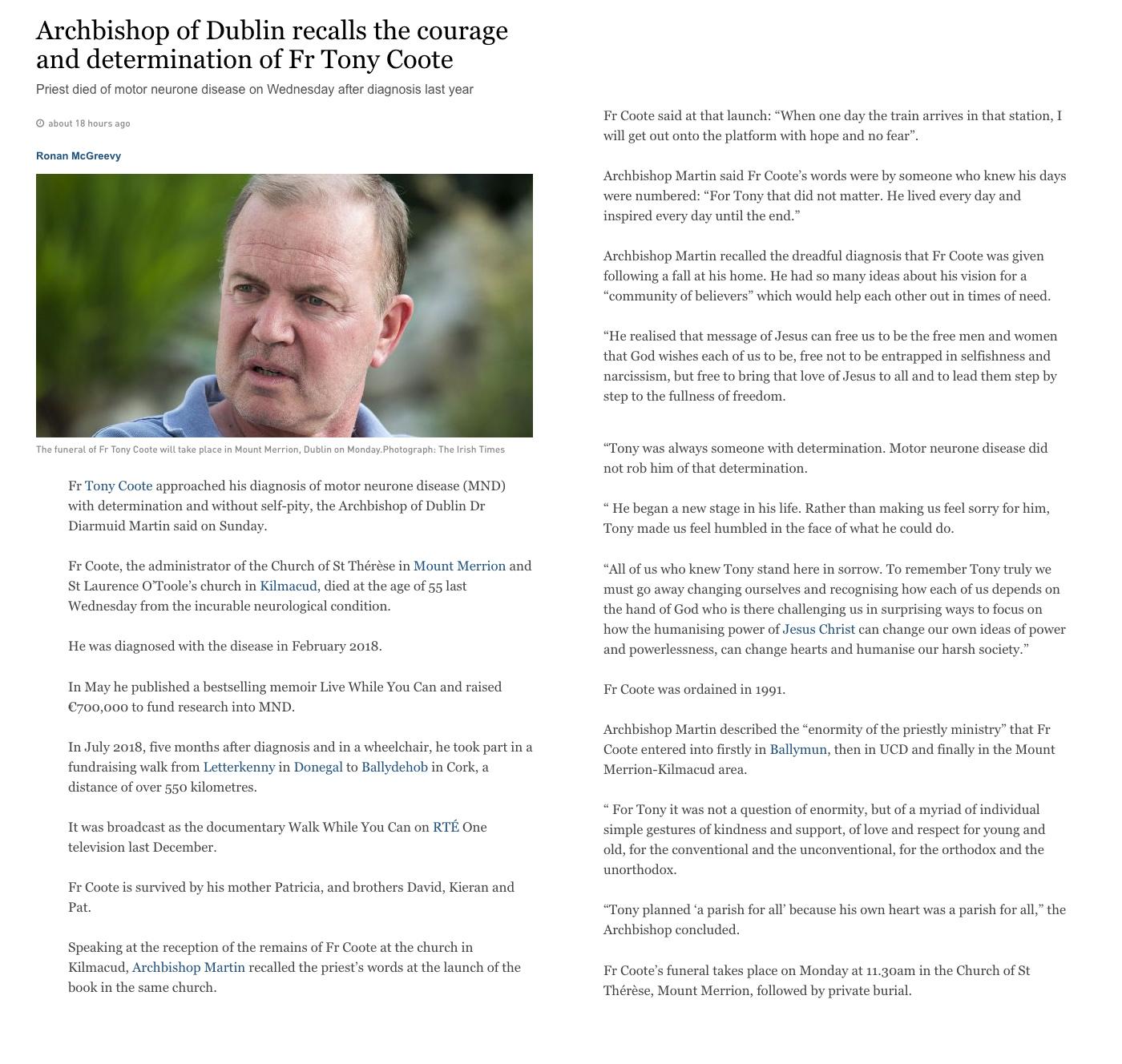 https://www.irishtimes.com/news/ireland/irish-news/archbishop-of-dublin-recalls-the-courage-and-determination-of-fr-tony-coote-1.4004080