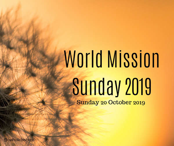 World Mission Sunday, October 20th 2019
