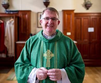 Fr Joe Mullan Kilmacud Parish Administrator