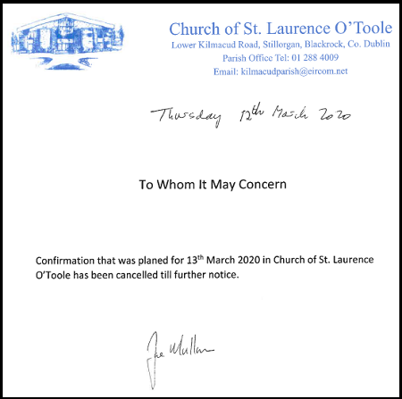 Confirmation Cancelled. Click to read more.