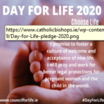 Day for life, 2020