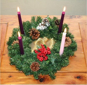 Advent Wreath, Kilmacud Parish 2020